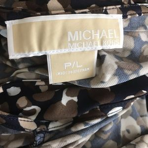 Michael Kors Tops - 50% Off Sale 🎉 Michael Kors Brown floral top